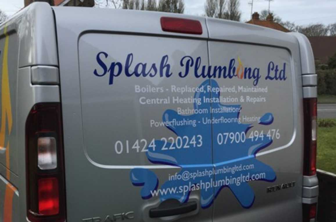 splash plumbing van